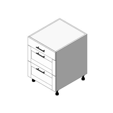 Base Cabinet 2 Drawer Cabinet: (OBM)