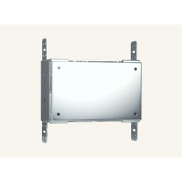 "CB-MXSA-07 Rough-In Box and Cover Plate for the 7"" Wall Mount Modero X® Modero S Touch Panels and RoomBook Scheduling Panel"