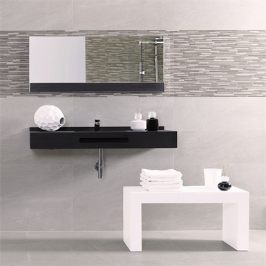 Collection Brancato colour Marron Wall Tiles