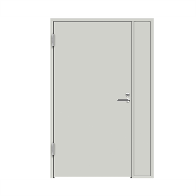 Interior Door HP FS51 Steel Frame  Side Panel Single