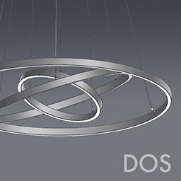 DOS CHANDELIERS (Delray Lighting LLC) | Free BIM object for Revit