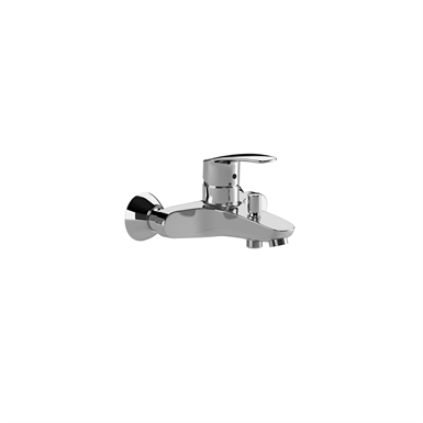 MONODIN-N Wall-mounted bath-shower mixer w/ automatic diverter