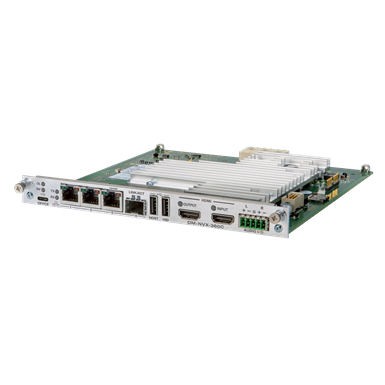 DM-NVX-360C  DM NVX® 4K60 4:4:4 HDR Network AV Encoder/Decoder Card