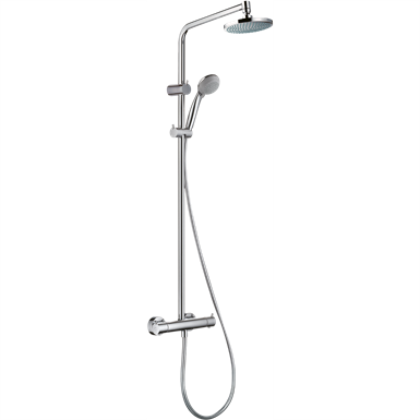 Croma Showerpipe 160 1jet EcoSmart 9 l/min with thermostat 27246000