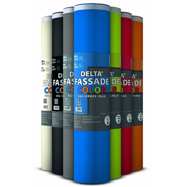 DELTA®-FASSADE COLOR PLUS - Membrane for façade designs with open joints