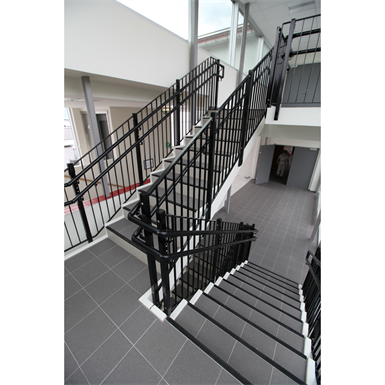 STAIRS WITH RAILINGS (Midthaug) | Free BIM object for ArchiCAD