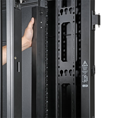 42U Wide Server Rack, Euro-Series - 800 mm Width, Expandable Cabinet, Doors & Side Panels Included