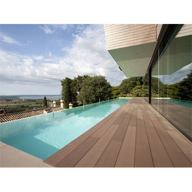 WPC decking profile 200x21 mm