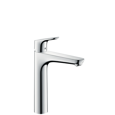 Focus Single lever basin mixer 190 with pop-up waste set 31608000