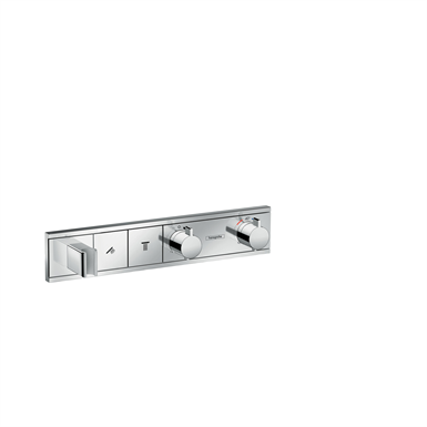 RainSelect Thermostat for concealed installation for 2 functions with integrated shower holder 15355000