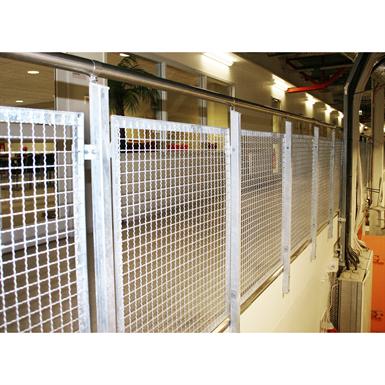 SECTIONAL RAILING MESH SIDE MOUNTED (Weland AB) | Free BIM