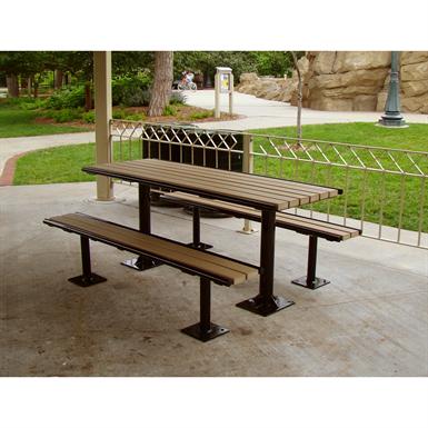 Avondale Picnic Table 8ft W Tubing