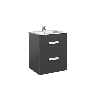DEBBA 600 Base unit w/ 2 drawers and basin
