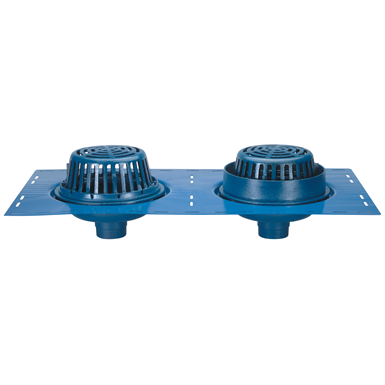 Z164 12 Diameter Combination Main Roof And Overflow Drain With Low Silhouette Domes And Double Top Set Deck Plate Zurn Industries Free Bim Object For Revit Revit Revit Revit Bimobject