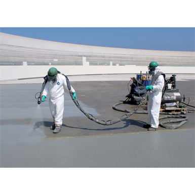 SPRAY-APPLIED WATERPROOFING SYSTEM FOR BRIDGE DECKS AND