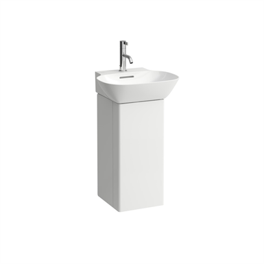 INO Vanity unit, with one door left, space saving siphon, for washbasin 815301