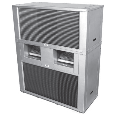 DSH & DSV JCI Air-Cooled Self-Contained Units, D-Series Horizontal and Vertical