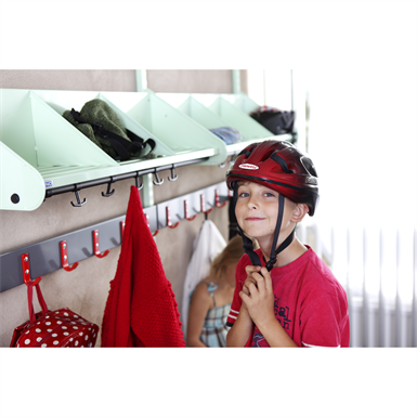 BST hat rack with dividers