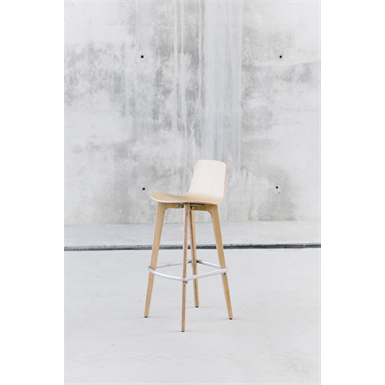 Lottus Wood stool high