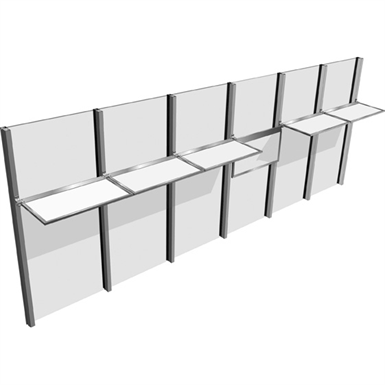 INLIGHTEN™ INTERIOR LIGHT SHELF (Kawneer NA) | Free BIM object for