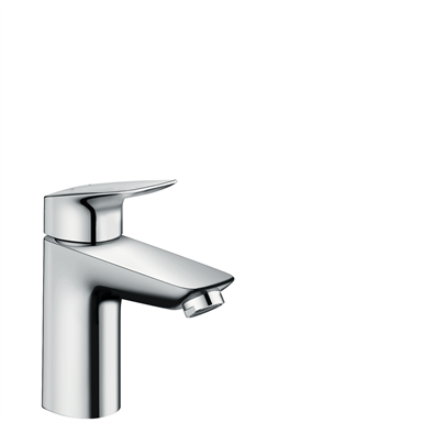 Logis Single lever basin mixer 100 with pop-up waste set 71100000