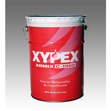 Xypex Admix C-1000/C-1000 NF - Crystalline Concrete Waterproofing