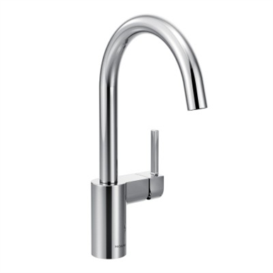 7365 ALIGN ONE-HANDLE HIGH ARC KITCHEN FAUCET (Moen) | Free ...