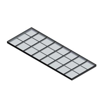 SINGLE PITCH SKYLIGHT – GLASS (Wasco-Skylights) | Free BIM