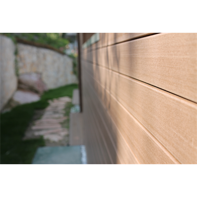 WPC wall cladding profile 75x15 mm