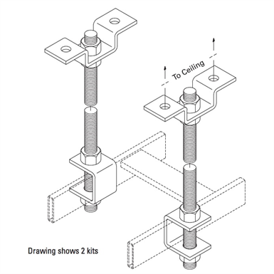 THREADED CEILING KIT (Chatsworth Products) | Free BIM object for