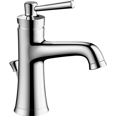 04771000 Joleena Single lever basin mixer 100 with lever handle and pop-up waste set