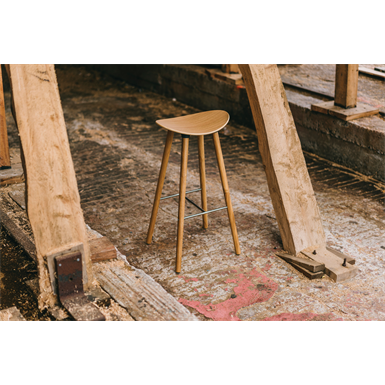 Coma Wood Stool high