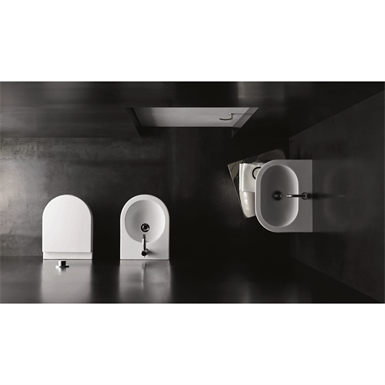 Mini Nuvola wall hung Wc cm 46.