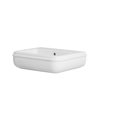Charme washbasin wall-hung 55x46