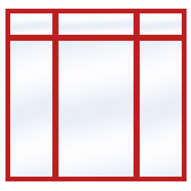 Steel Glass Wall SD4220 P50