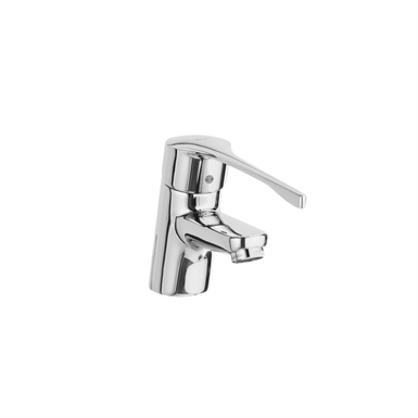 VICTORIA PRO - Basin mixer with chain connector - Handle for People with Reduced Mobility