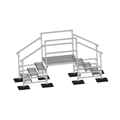 CROSSOVER ROOF WALKWAY SYSTEM (PHP Systems Design) | Free BIM object