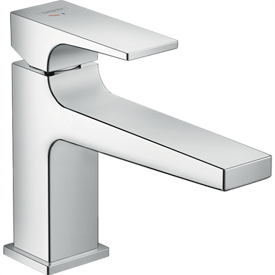 Metropol Single lever basin mixer 100 CoolStart with lever handle and push-open waste set 32503000