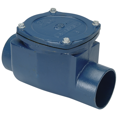 Z1090 BACKWATER VALVE FLAPPER TYPE (Zurn Industries) | Free BIM