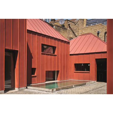 18 GreenCoat® Colour Coated Steel | Brick Red Colour