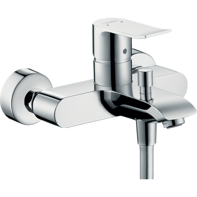 Metris Single lever bath mixer for exposed installation 31480000