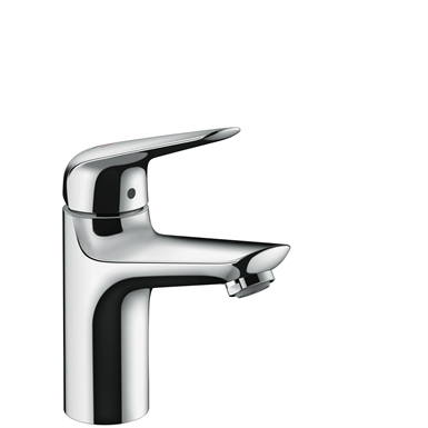 Novus Single lever basin mixer 100 CoolStart with push-open waste set 71032000