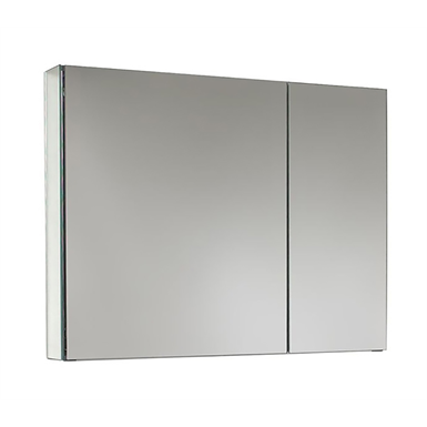"Premier Series Polished Edge Dual Door Medicine Cabinet - 31"" x 27"" Surface Mounted"