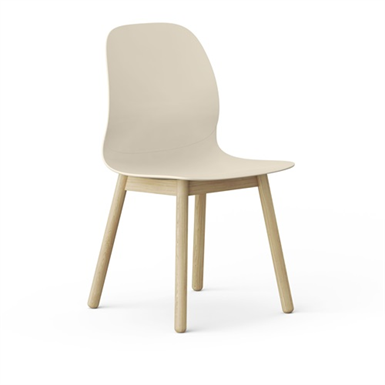 EFG Archie, Chair 4-leg wooden frame
