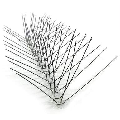 STAINLESS STEEL BIRD SPIKES - EXTRA WIDE (Bird-X) | Free BIM