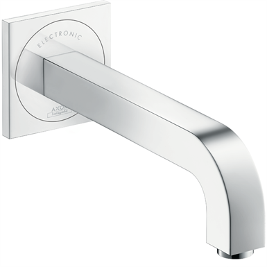 AXOR Citterio Electronic basin mixer for concealed installation wall-mounted with spout 221 mm 39118000