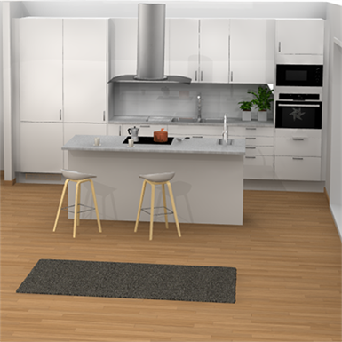 KITCHEN WITH ISLAND (Marbodal) | Free BIM object for ...
