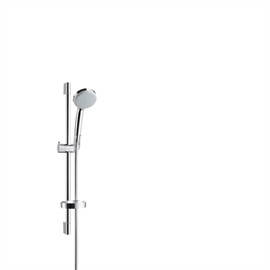 Croma 100 Shower set Vario EcoSmart 9 l/min with shower bar 65 cm and soap dish 27776000