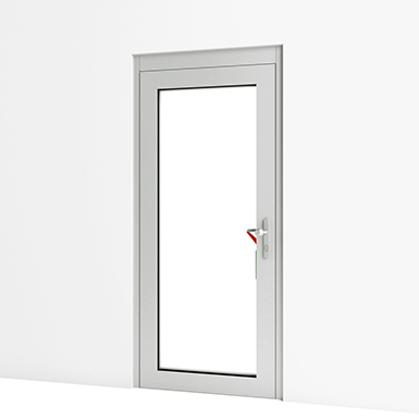 Emergency Exit Door w/ Escape Control Alarm