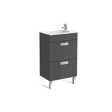 DEBBA 500 Compact base unit w/ 2 drawers and basin